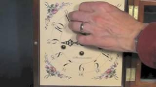 Sternreiter MM80837307 chiming Mantel Clock, Mahogany