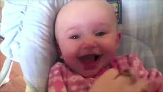 Cute baby plays in water., Funny fails.