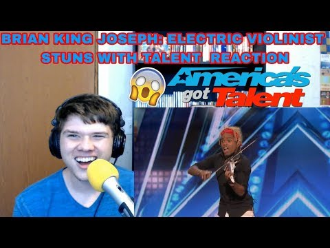 Brian King Joseph: Electric Violinist Stuns With Talent - America's Got Talent 2018 REACTION!!!