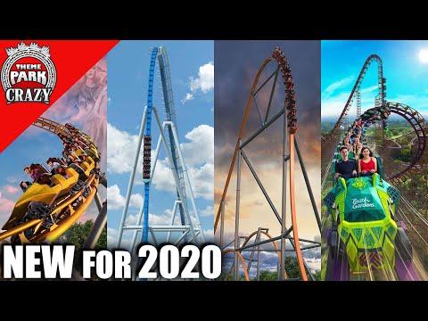 NEW 2020 Roller Coasters Recap - Upcoming Thrills