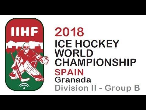2018 IIHF ICE HOCKEY MEN'S W.C. Div. II Group B - Spain vs. Mexico