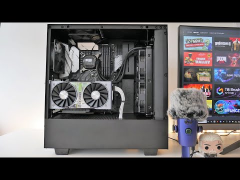 NZXT H510i Unboxing And Overview (with Install)