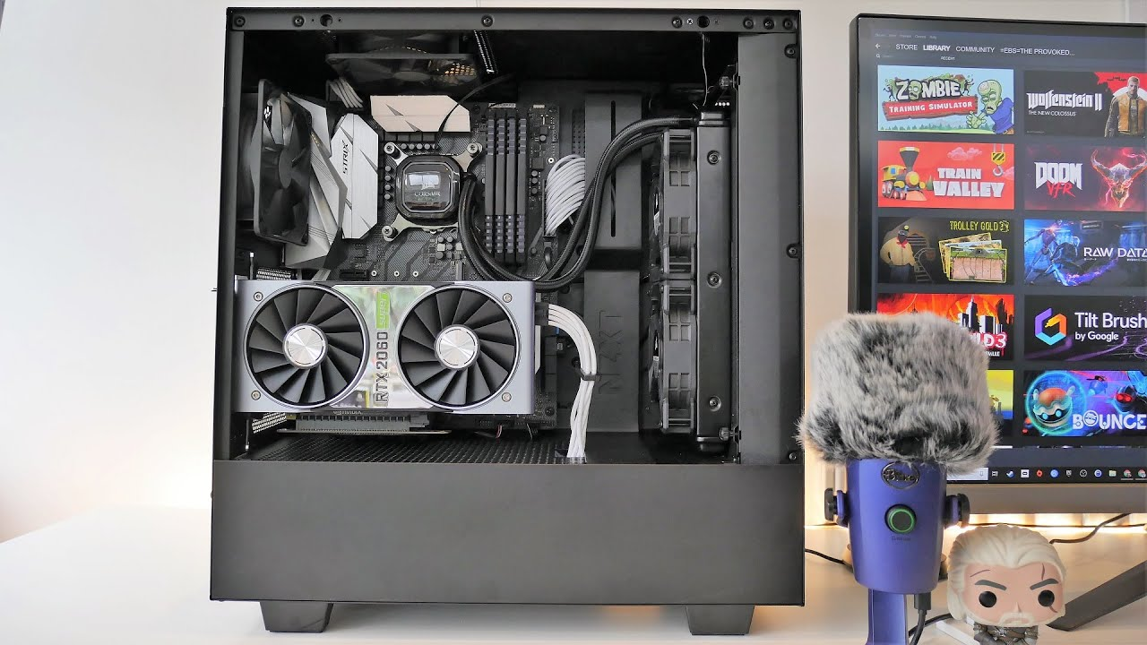 Nzxt H510i Unboxing And Overview With Install Youtube