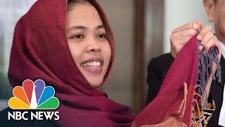 Woman Accused Of Murdering Kim Jong Un's Half Brother Freed | NBC News