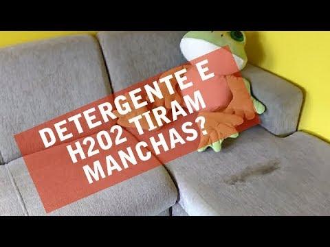 Detergente De Coco + água Oxigenada Tiram Manchas Do Sofá?