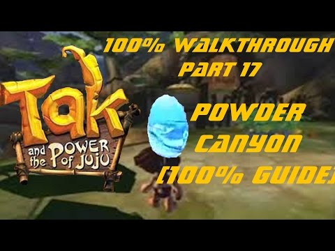 #17 | Let's Play Tak and the Power of Juju 100% - Powder Canyon (How to collect everything)