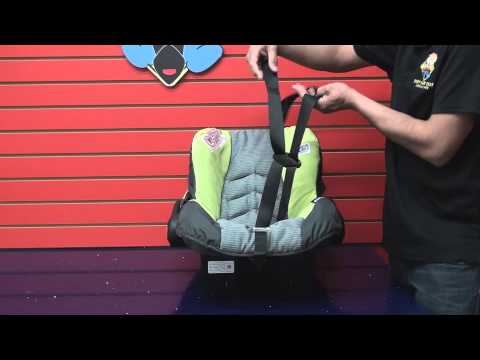 Evenflo Embrace: Car Seat Cleaning (Part 2 Put Car Seat together after cleaning)