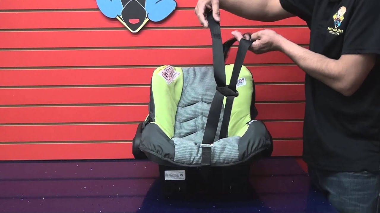 Evenflo Embrace Car Seat Cleaning Part 2 Put Together After