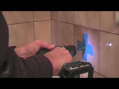 how to drill a hole in a tile too easy