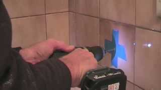 How to Drill a Hole in a Tile - TOO EASY! thumbnail