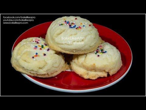 Easy AMAZING SOFT Sugar Cookies Recipe