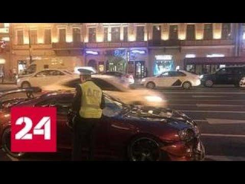 Стритрейсер насмерть сбил женщину на Невском проспекте в Петербурге