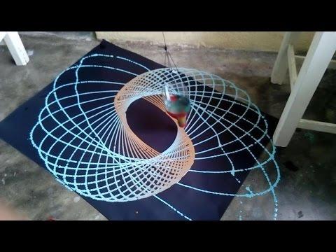 Como hacer un pendulo dibujante (Experimentos de fisica fáciles)