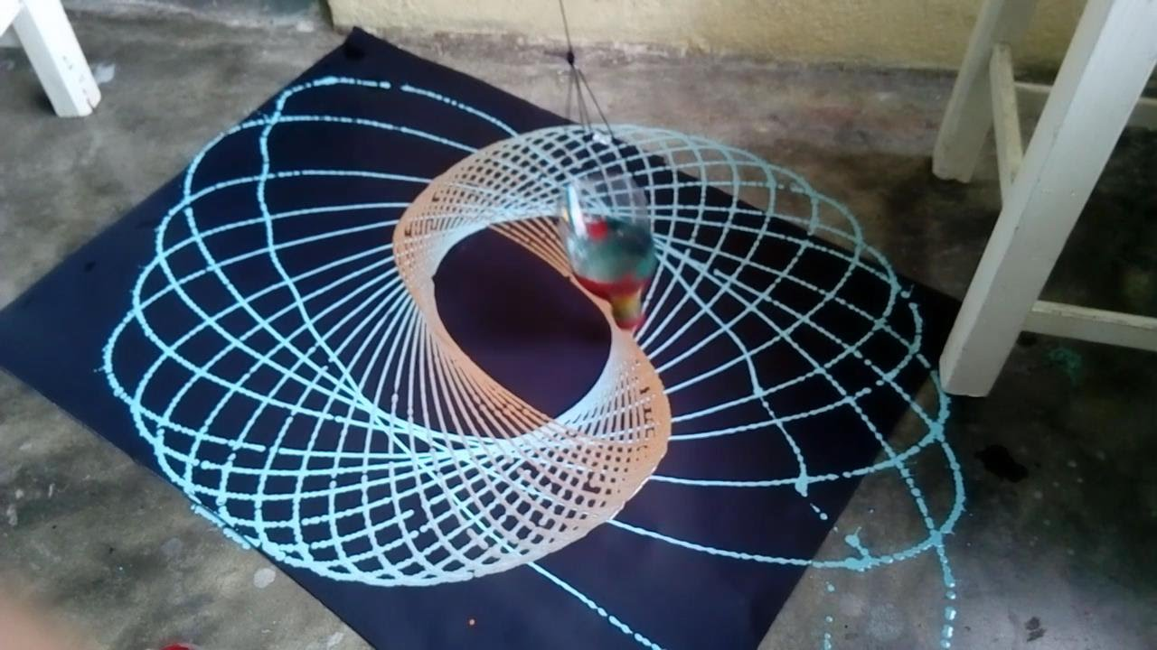 Como hacer un pendulo dibujante (Experimentos de fisica ...