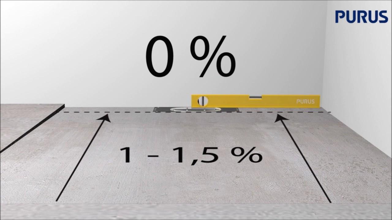 Topnotch Installationsfilm för Purus Line i träbjälklag - YouTube TF19