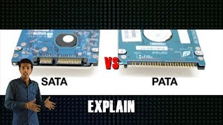 SATA Vs PATA Explained || in Hindi || comp point