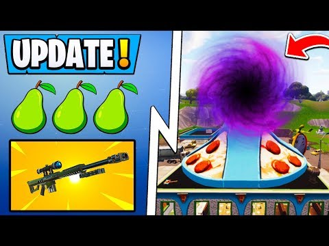 NEW* Fortnite Update!   7 12 and 7 13, Map Change, Dusty Depot Returns!