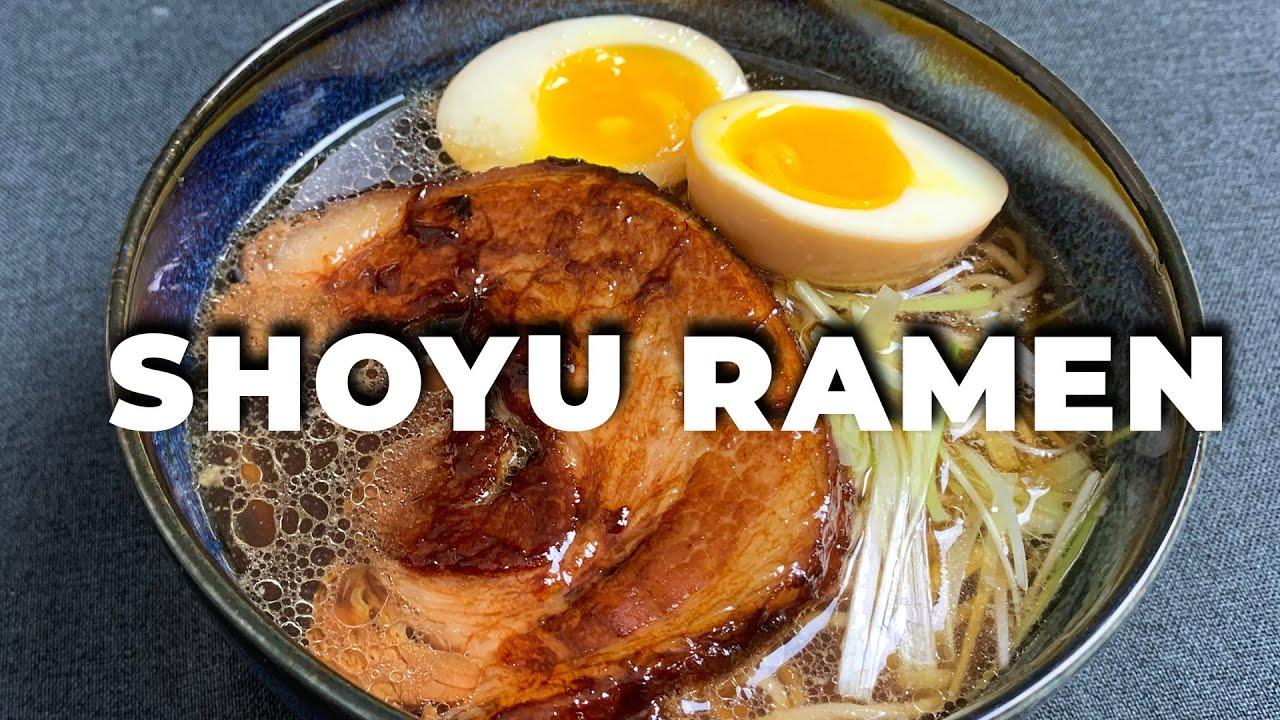 Receta Ramen (Shoyu) ➡ Caldo + Fideos + Guarniciones | Cocina Japonesa