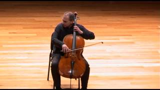 Asier Polo; Suite nº3 en Do Mayor; J. S. Bach; Cellocyl 2012