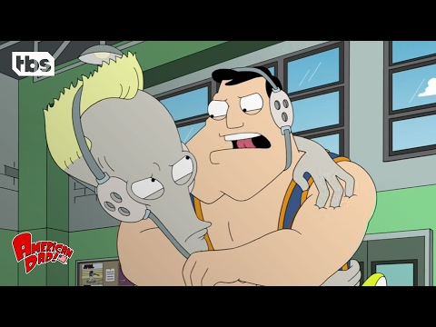 American Dad: Stan & Roger Try Wrestling (Season 7 Episode 12 Clip) | TBS