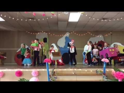JCS Kindergarten Production of Dr Seusss Green Eggs and Ham