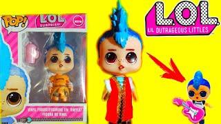 БОЛЬШОЙ МАЛЬЧИК ЛОЛ! Новые Куклы L.Q.L! Крутая ПОДДЕЛКА! LOL Surprise Boys Dolls/Fake