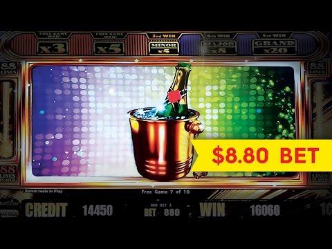 Jackpot Streak Slot - $8.80 Max Bet - BIG WIN BONUS! - 동영상