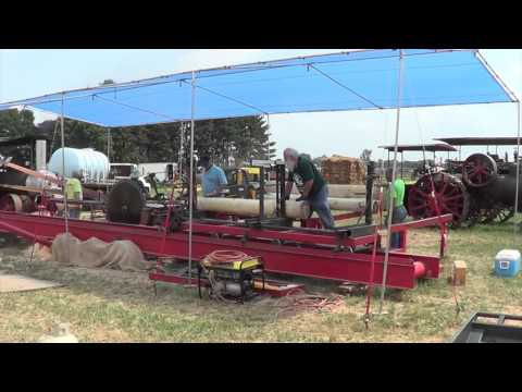 Sawmill at the 2012 Wisconsin Farm Technology Days
