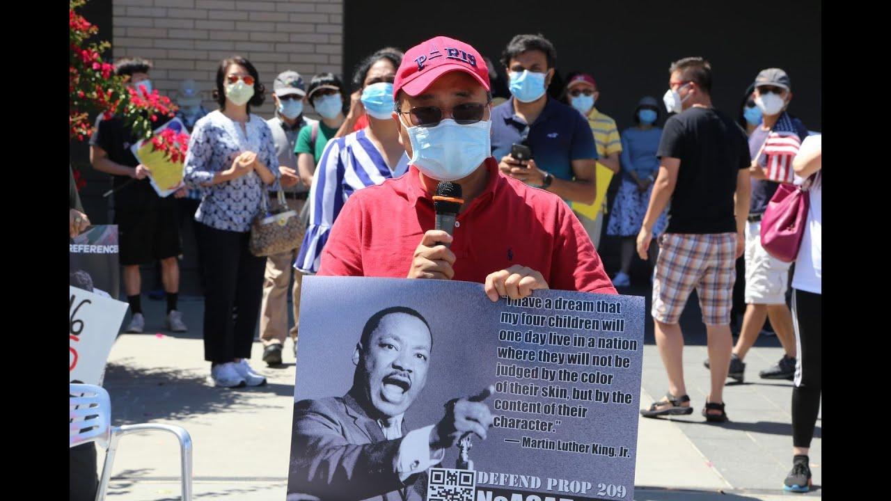 这算种族歧视吗?硅谷华人No Prop16 (ACA-5) Cupertino和平游行活动被英文主流媒体故意忽略 下一站:7/11 Fremont!