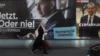 Live élections autrichiennes : les conservateurs en tête devant l'extrême-droite