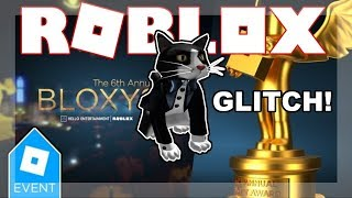 [BLOXY EVENT ENDED 2019!] COME OTTENERE TOXEDO CAT GLITCH! Roblox 6a Bloxys annuale