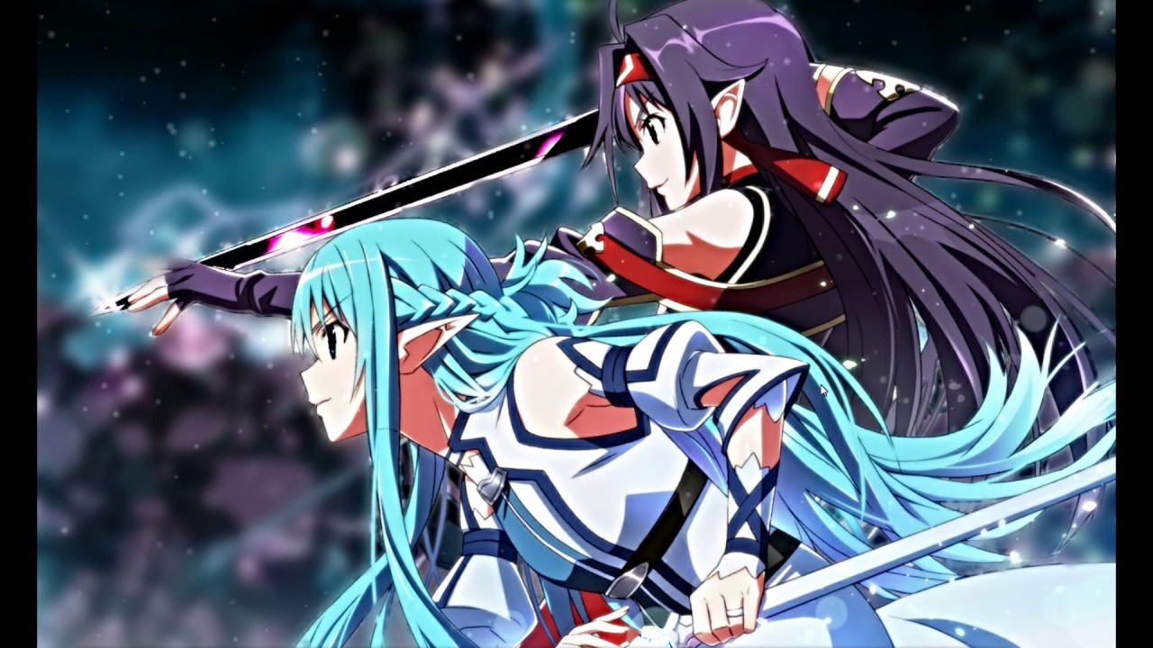 Wallpaper Engine Sword Art Online Steam Asuna Yuuki