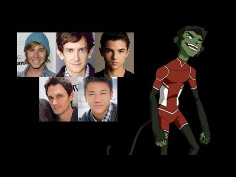 Comparing The Voices  Beast Boy