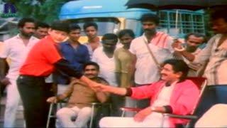 Mahesh babu meets superstar krishna - bazaar rowdy telugu movie scenes