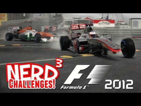 Nerd³ Challenges! Monaco in the Rain - F1 2012