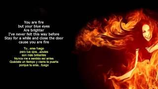 Prince Royce - You are Fire(Letra Ingles-Español)