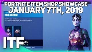 Fortnite Item Shop DARK BOMBER IS BACK! [January 7th, 2019] (Fortnite Battle Royale)