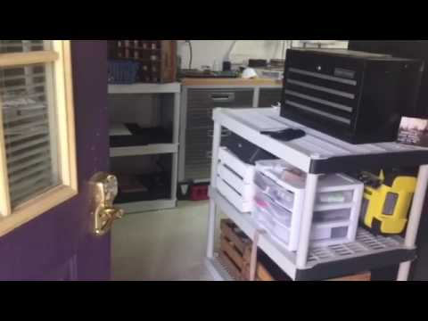 A quick tour of my studio. Not your traditional jewelry studio but it works for me.