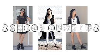 School Outfits (Warm Weather)