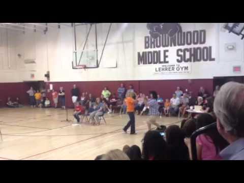 Brownwood Middle School Teacher skit!