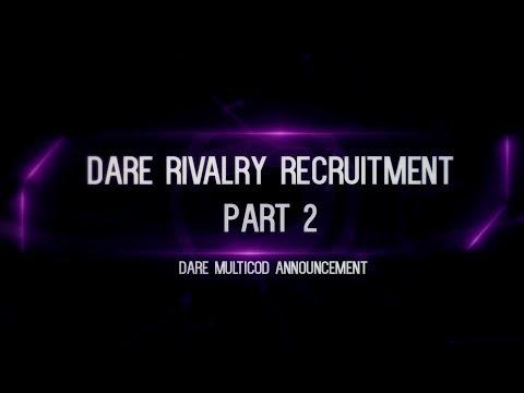 Dare Rivalry RC: Stage 1 Results [Stage 2] + Multi-Cod Announcement!
