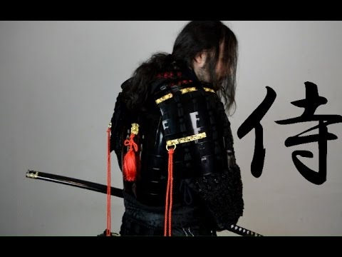my new real samurai armour from iron mountain armory review youtube