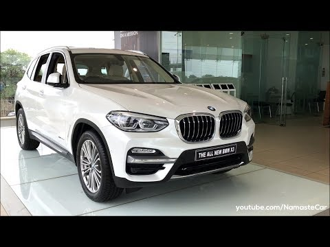 BMW X3 xDrive 20d Luxury Line G01 2018 Real life review