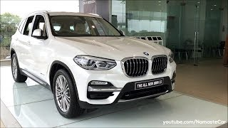 BMW X3 xDrive 20d Luxury Line G01 2018 | Real-life review