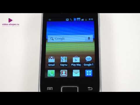 Обзор Samsung Galaxy Y duos GT-S6102