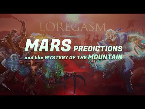 LOREGASM: Mars Predictions and the Mystery of the Mountain