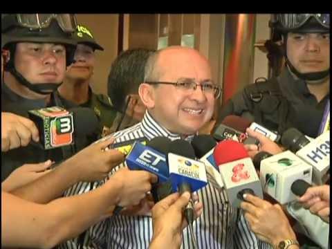 El Fiscal General de la nación empezó su trabajo en Medellín