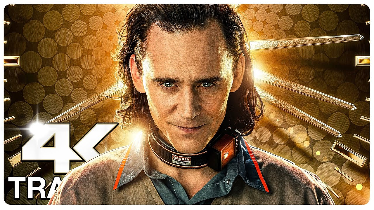 LOKI : 5 Minute Trailers (4K ULTRA HD) NEW 2021