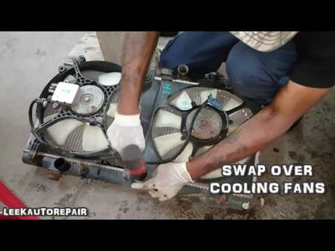 HOW TO REPLACE RADIATOR 2000-2005 MITSUBISHI ECLIPSE