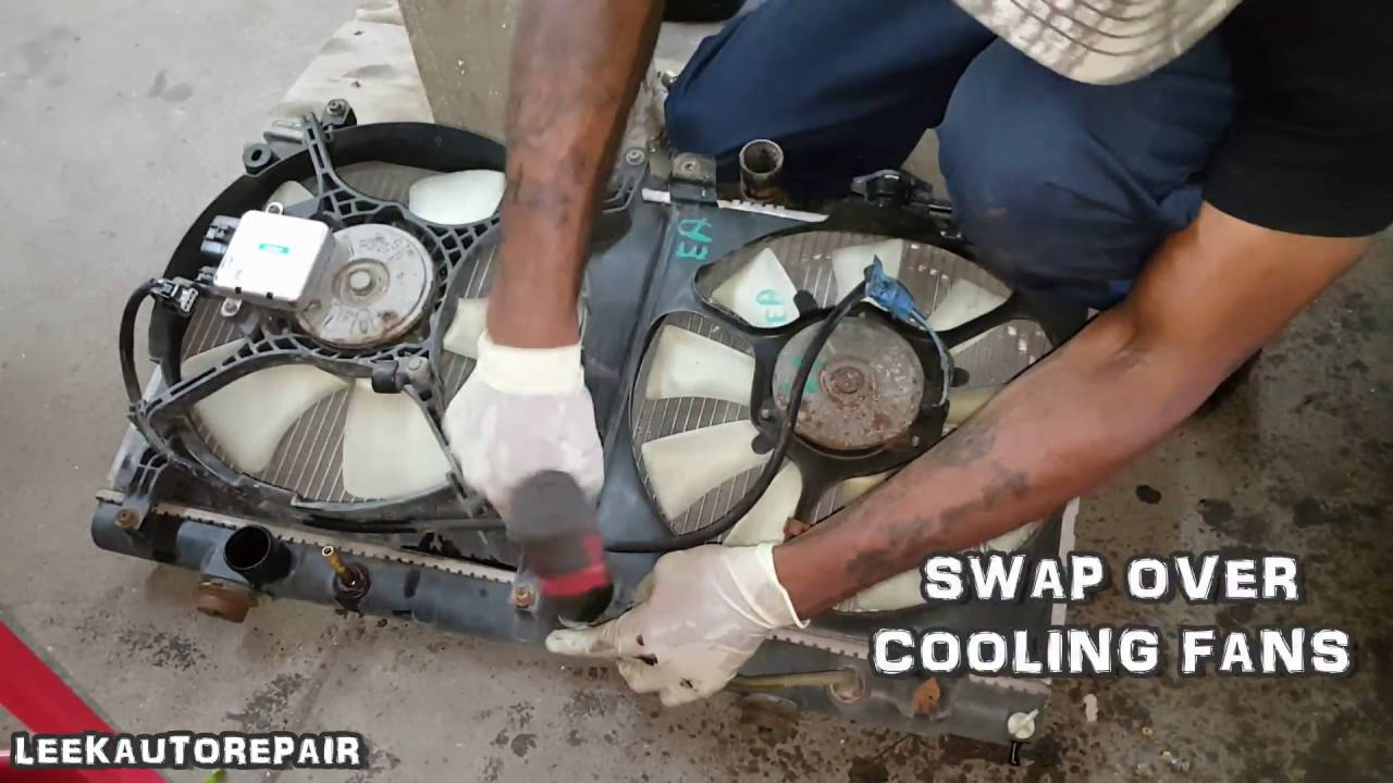 REPLACE RADIATOR 2000-2005 MITSUBISHI ECLIPSE - YouTube